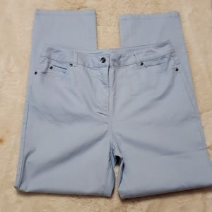 Appleseed's High Rise Light Blue Jeans sz 12